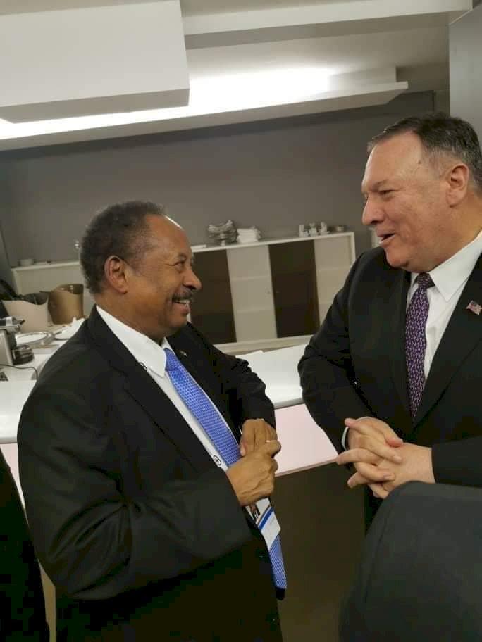 انهاء العقوبات الاقتصادية الأمريكية على السودان.